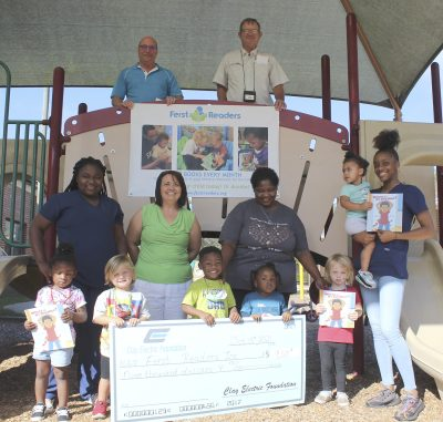 Ferst Readers program receives $9K from Operation Round Up grant