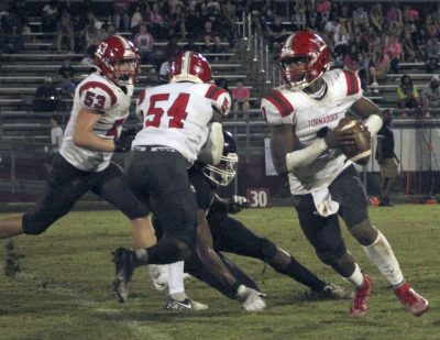 Mistakes hurt Tornadoes in 38-21 loss to Baldwin