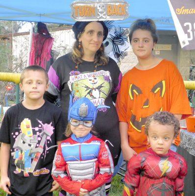 Worthington Springs celebrates Nightmare Before Christmas at city park